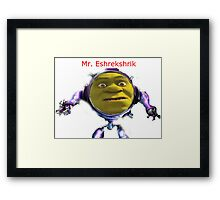 Mr. Eshrekshrik Framed Print