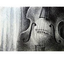 Sounds fill the room, 2012, A4, graphite crayon Photographic Print