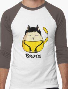 Bruce the Cat Men's Baseball ¾ T-Shirt