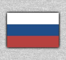 RUSSIAN, Soviet Union, Russia, Russian Flag, Russian National Flag, USSR, Pure & Simple, Putin Kids Tee