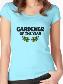 Gardener of the Year Women's Fitted Scoop T-Shirt