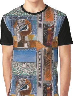 Dufy Raoul - View Through A Window, Nice  1925 , Impressionism , Seascape  Graphic T-Shirt