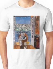 Dufy Raoul - View Through A Window, Nice  1925 , Impressionism , Seascape  Unisex T-Shirt