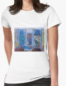 Dufy Raoul - Window Opening on Nice 1928 ,   Seascape  Womens Fitted T-Shirt