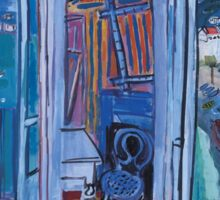 Dufy Raoul - Window Opening on Nice 1928 ,   Seascape  Sticker