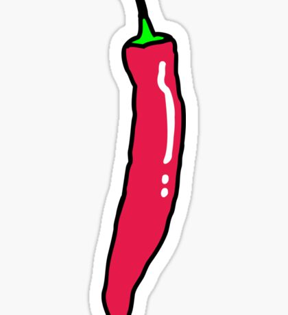 Red Hot Chili Pepper Sticker