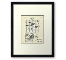 Game Apparatus-1945 Framed Print