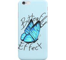 (Blue) Butterfly Effect iPhone Case/Skin