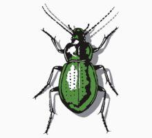 Green Beetle Kids Tee