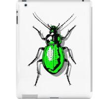 Green Beetle iPad Case/Skin