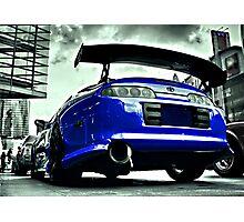 TOYOTA SUPRA Street car racer  Photographic Print