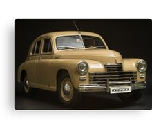 Soviet retro car Gaz M 20  Canvas Print
