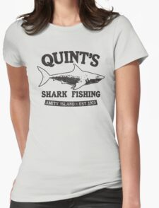 JAWS cool shark Womens Fitted T-Shirt
