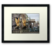 Griffons in St. Petersburg Framed Print