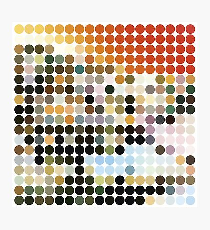 LED ZEPPELIN, BENDAY DOTS, HOUSES OF THE HOLY Photographic Print
