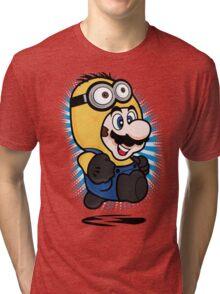 Minion Mario Tri-blend T-Shirt