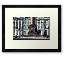 Column of St. Petersburg Framed Print
