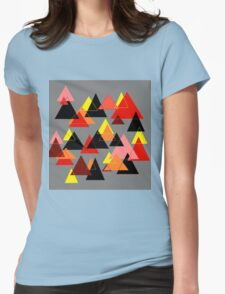 Red Mountains Womens Fitted T-Shirt