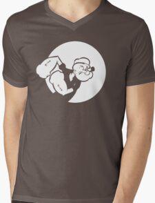 Popeye Mens V-Neck T-Shirt