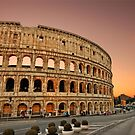 The Colosseum twilight by Hercules Milas