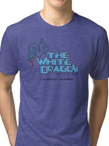 White Dragon - Noodle Bar White Variant Tri-blend T-Shirt