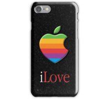 iLove 3D (for dark shirts) iPhone Case/Skin