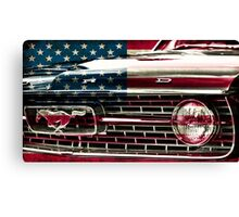 FORD MUSTANG USA Canvas Print