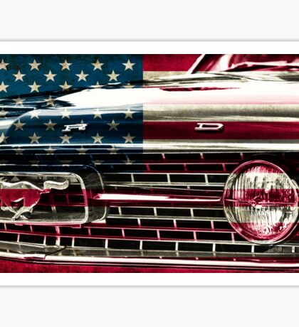 FORD MUSTANG USA Sticker
