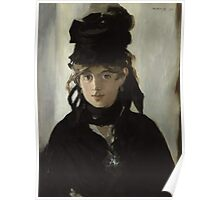 Edouard Manet - Berthe Morisot With a Bouquet of Violets 1872 Poster