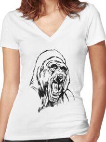 GORILLA Women's Fitted V-Neck T-Shirt