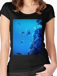 Fishes Women's Fitted Scoop T-Shirt