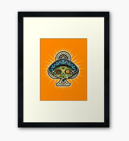The Dead Kat Klub Framed Print
