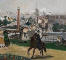 Edouard Manet - Fra Verdensutstillingen i Paris , French Impressionism , Landscape Sticker