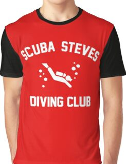 Scuba Steves Diving Club Graphic T-Shirt