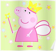 Peppa Fairy Pig Poster