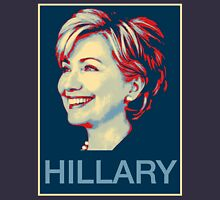 Hope Poster typography vote for Hillary Clinton Unisex T-Shirt