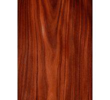 Beautiful red wood design Photographic Print