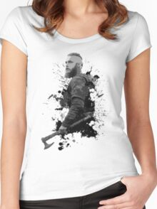 King Ragnar Women's Fitted Scoop T-Shirt