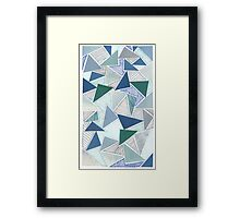 unusual destiny in the blue sea of august Framed Print