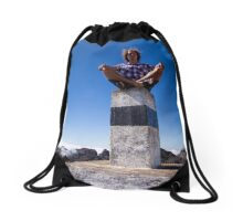 Unearthly Experience - Travel Photography Drawstring Bag