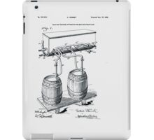 Art Of Brewing Beer Patent iPad Case/Skin