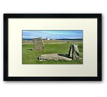 STANDING STONESVIEW COLLECTION Framed Print