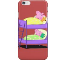 Peppa Pig Bed Time iPhone Case/Skin