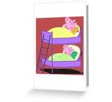 Peppa Pig Bed Time Greeting Card