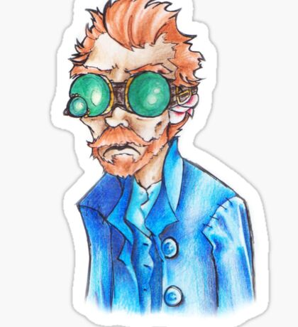 Vincent Van Goggles Sticker
