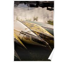Old Canoes - Advertising Photography Poster