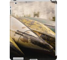 Old Canoes - Advertising Photography iPad Case/Skin