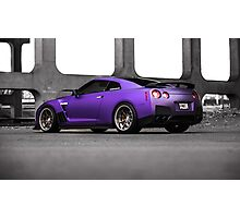 Purple R35 GTR Photographic Print