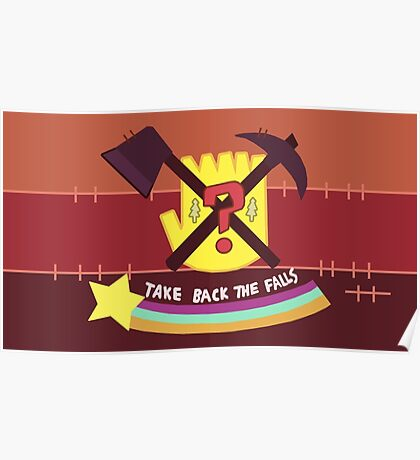 Take Back the Falls Poster