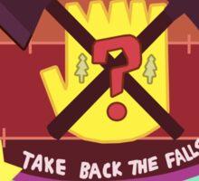 Take Back the Falls Sticker